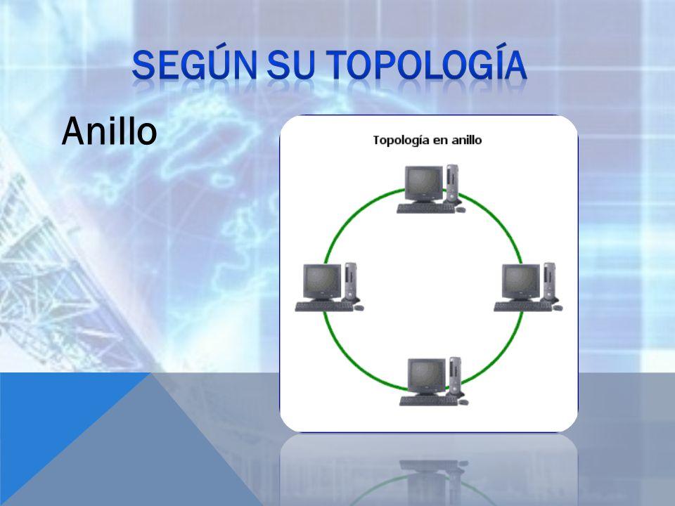 Según su topología Anillo