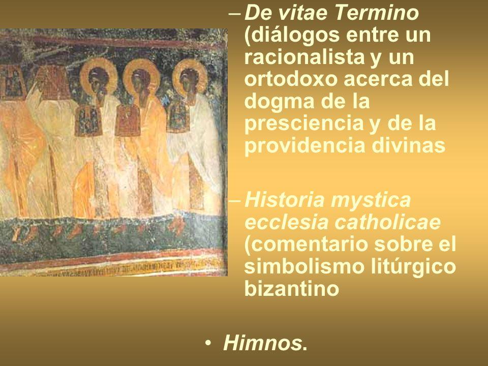 De vitae Termino (diálogos entre un racionalista y un ortodoxo acerca del dogma de la presciencia y de la providencia divinas
