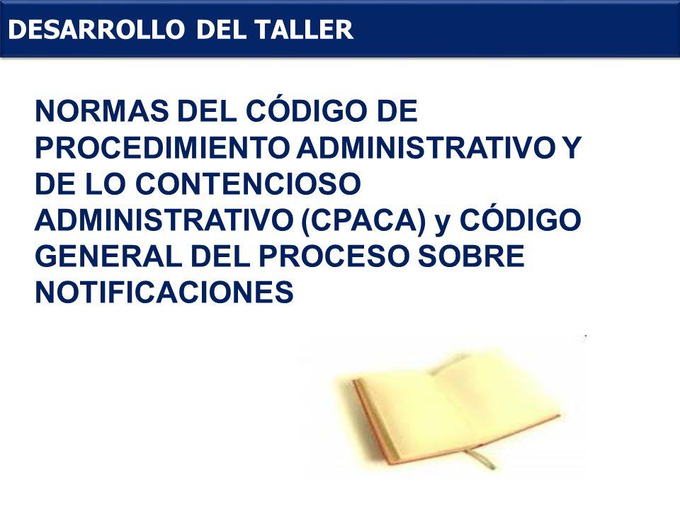DESARROLLO DEL TALLER .