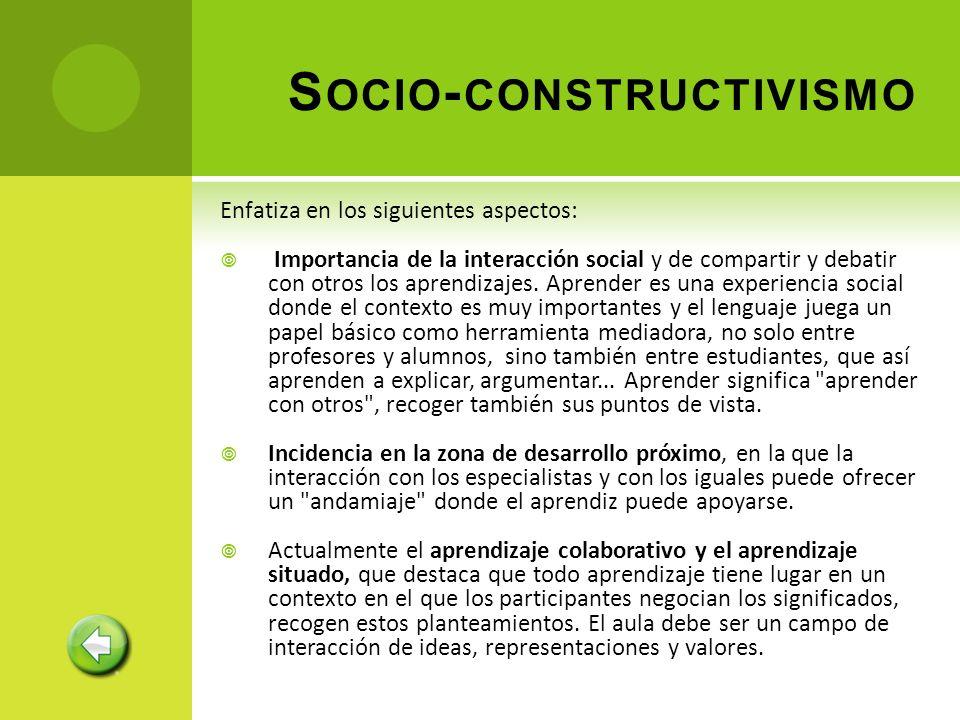 Socio-constructivismo