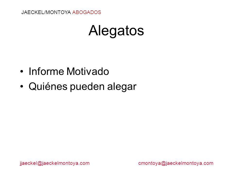JAECKEL/MONTOYA ABOGADOS