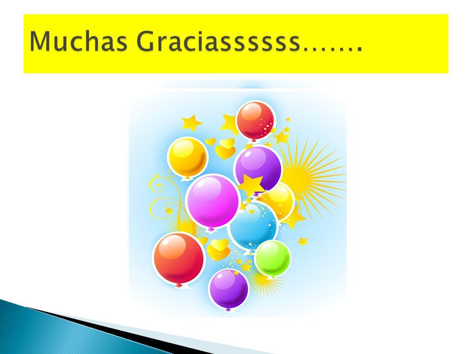 Muchas Graciassssss…….