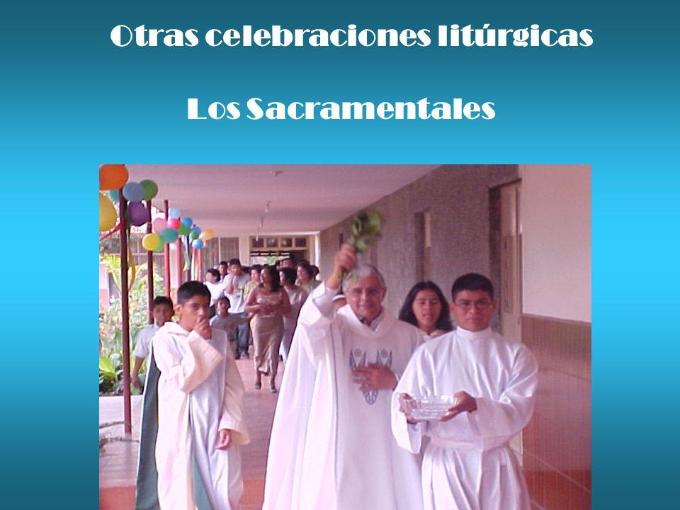 Otras celebraciones litúrgicas