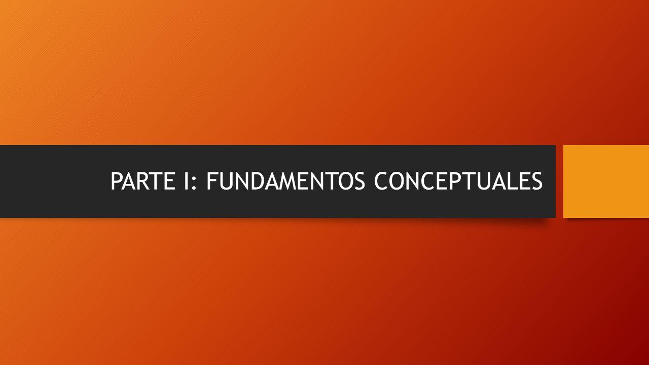 PARTE I: FUNDAMENTOS CONCEPTUALES