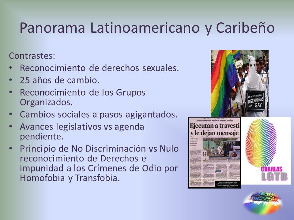 Panorama Latinoamericano y Caribeño
