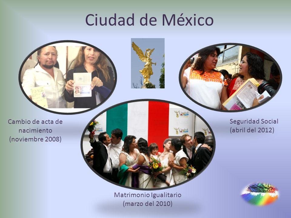 Ciudad de México Cambio de acta de nacimiento (noviembre 2008)
