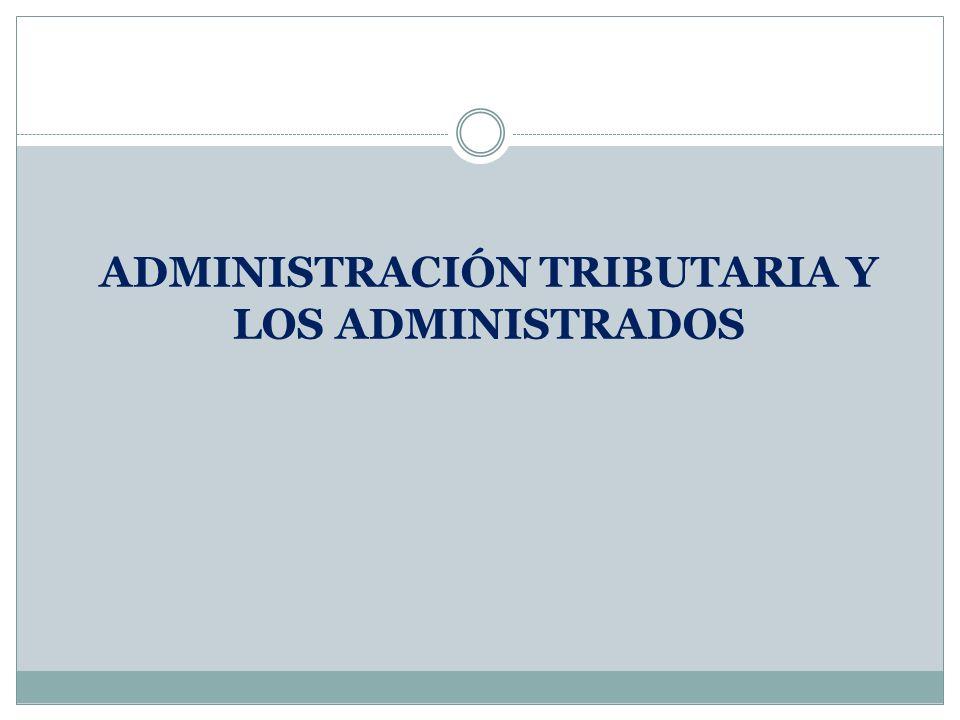 Administraci n tributaria y los administrados ppt video for Oficina tributaria