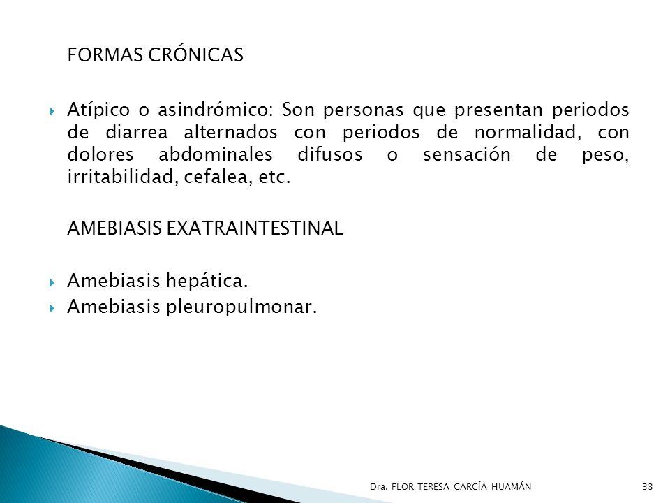 FORMAS CRÓNICAS