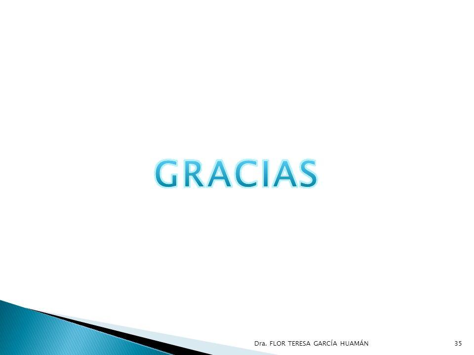 GRACIAS Dra. FLOR TERESA GARCÍA HUAMÁN