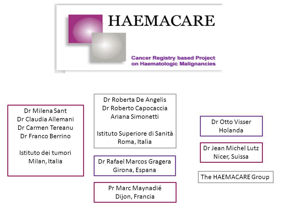 Istituto Superiore di Sanità Roma, Italia Dr Milena Sant
