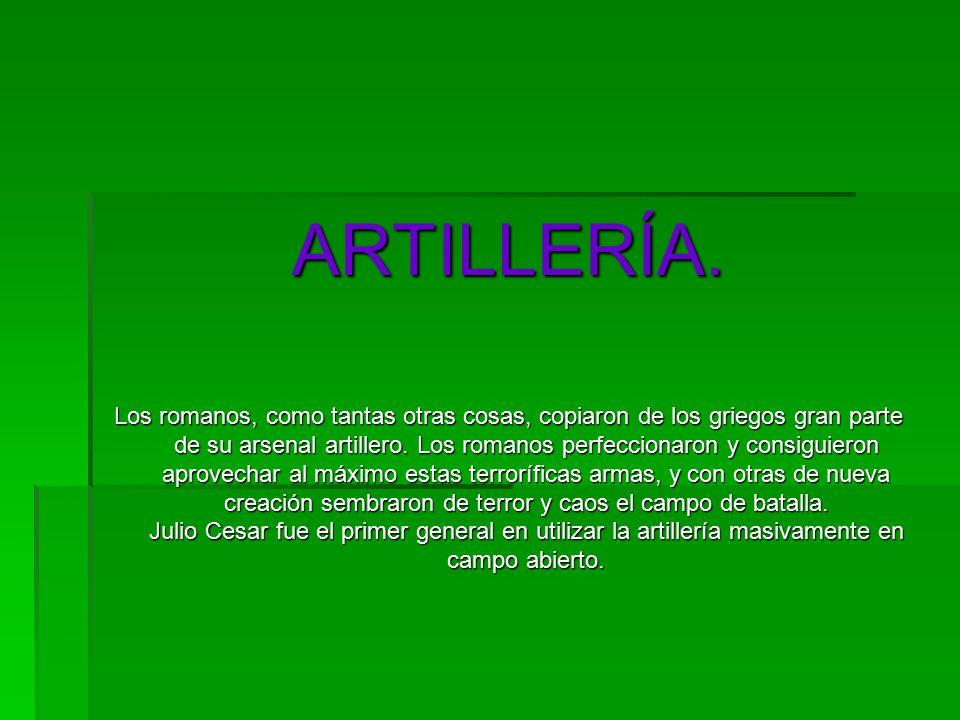 ARTILLERÍA.