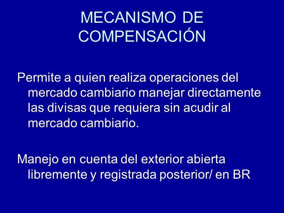 MECANISMO DE COMPENSACIÓN