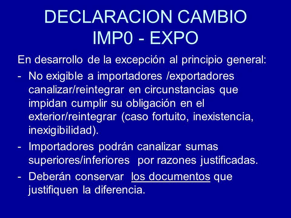 DECLARACION CAMBIO IMP0 - EXPO