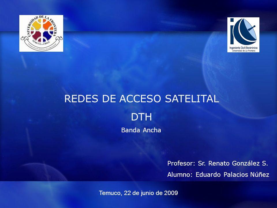 REDES DE ACCESO SATELITAL