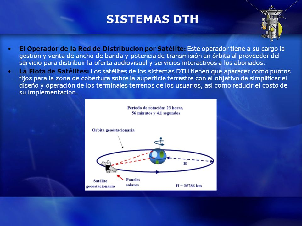 SISTEMAS DTH