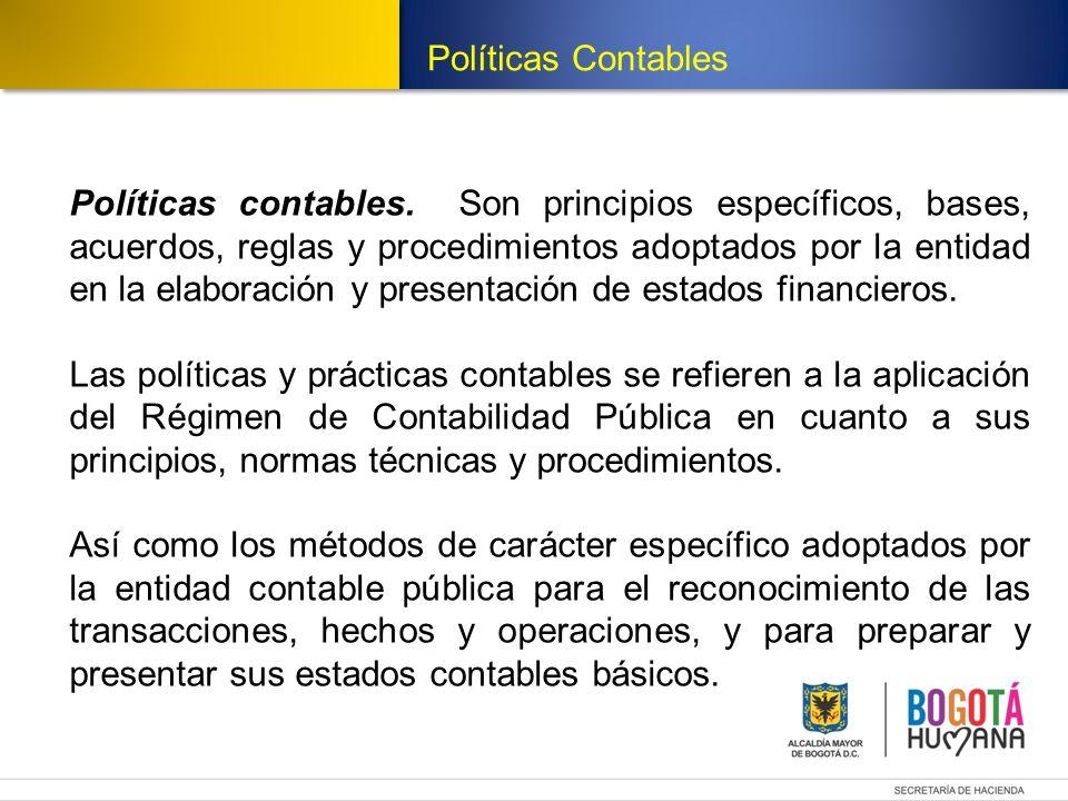 Políticas Contables