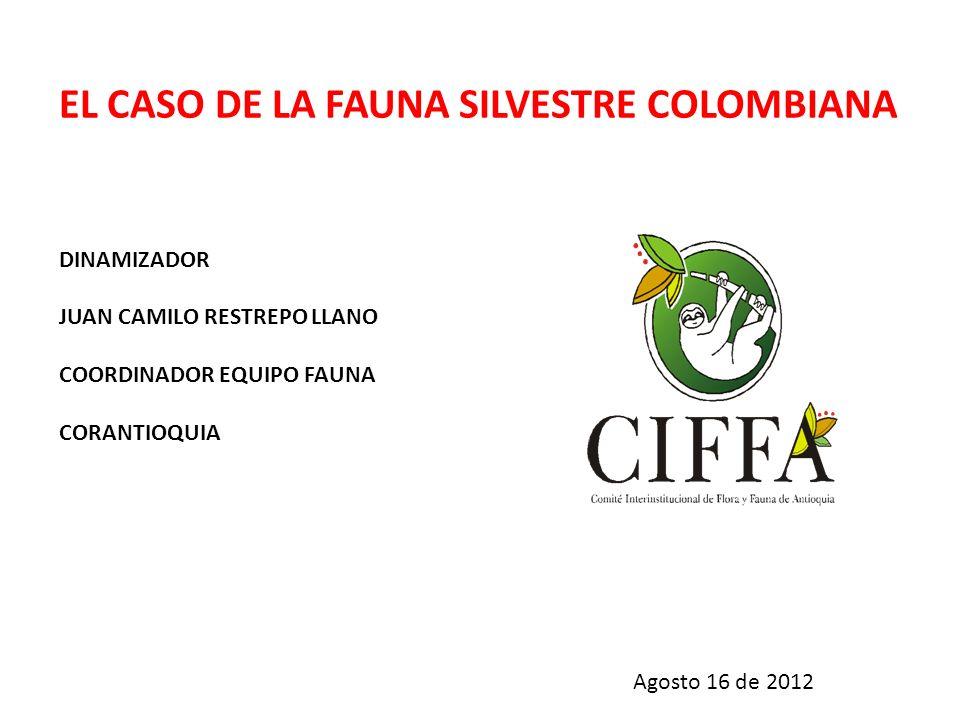 EL CASO DE LA FAUNA SILVESTRE COLOMBIANA