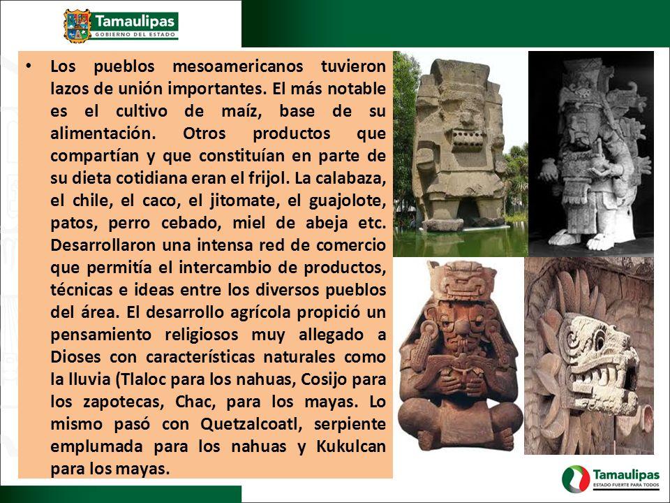 Los pueblos mesoamericanos tuvieron lazos de unión importantes