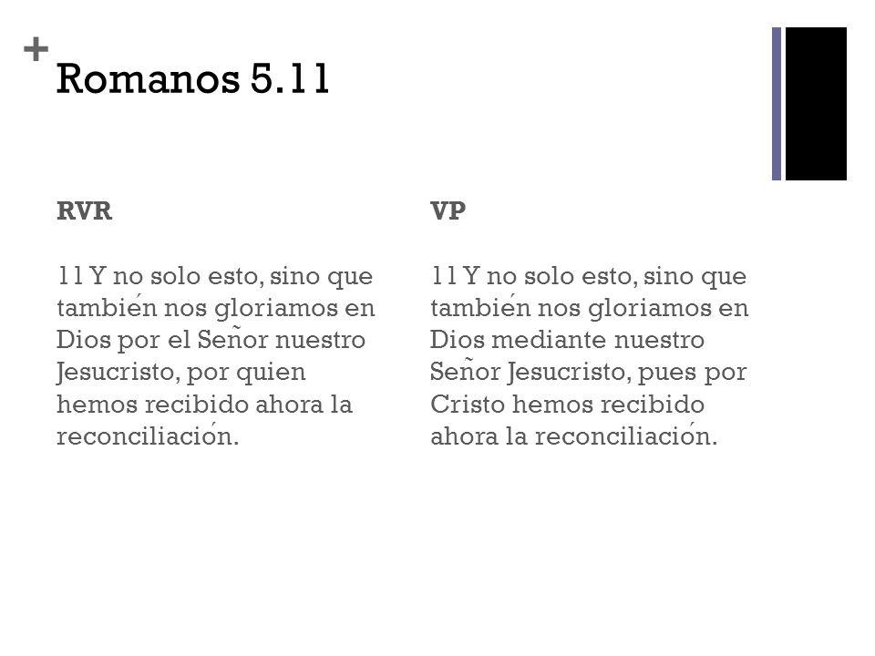 Romanos 5.11