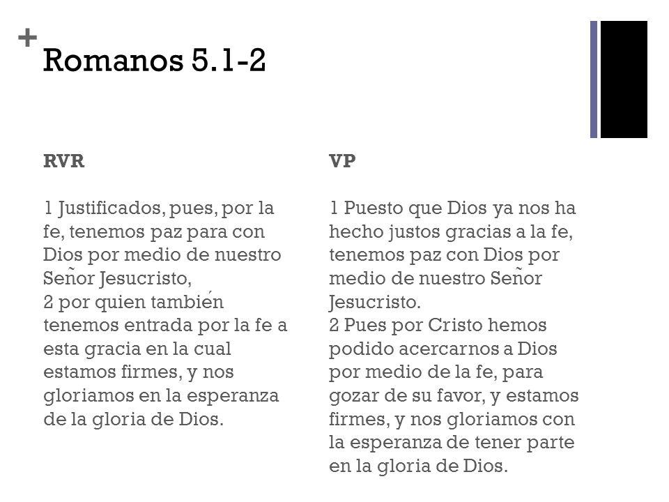 Romanos 5.1-2