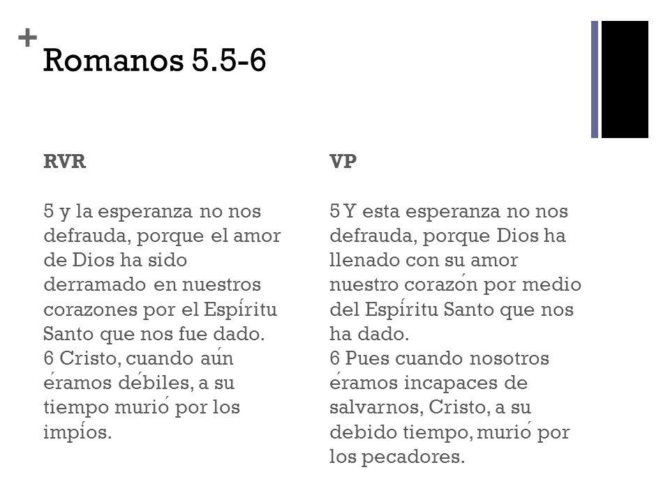 Romanos 5.5-6