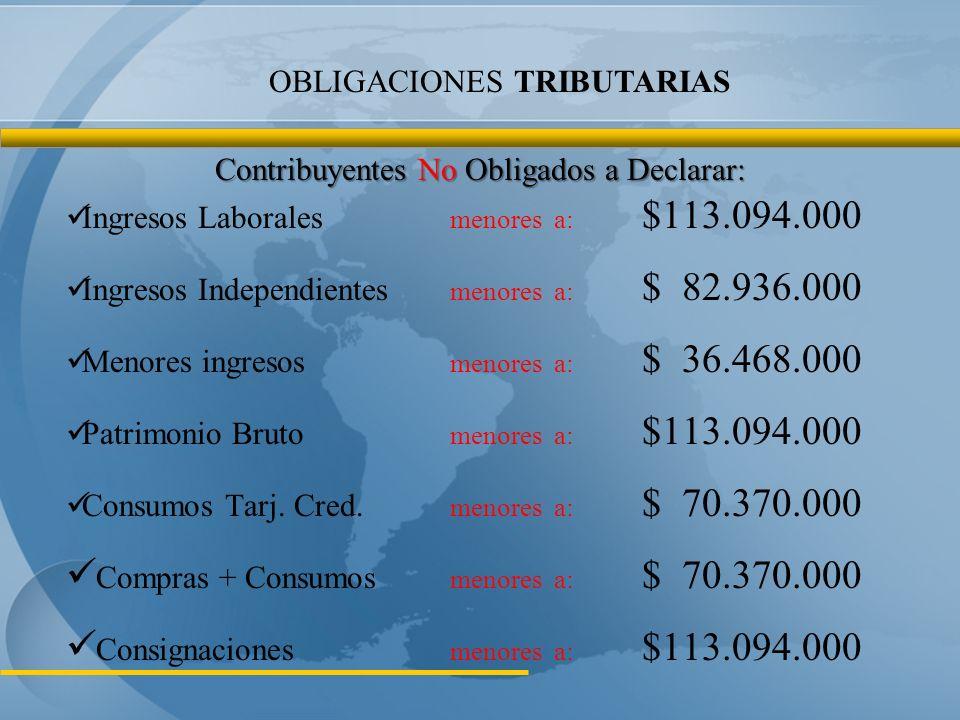 Compras + Consumos menores a: $ 70.370.000