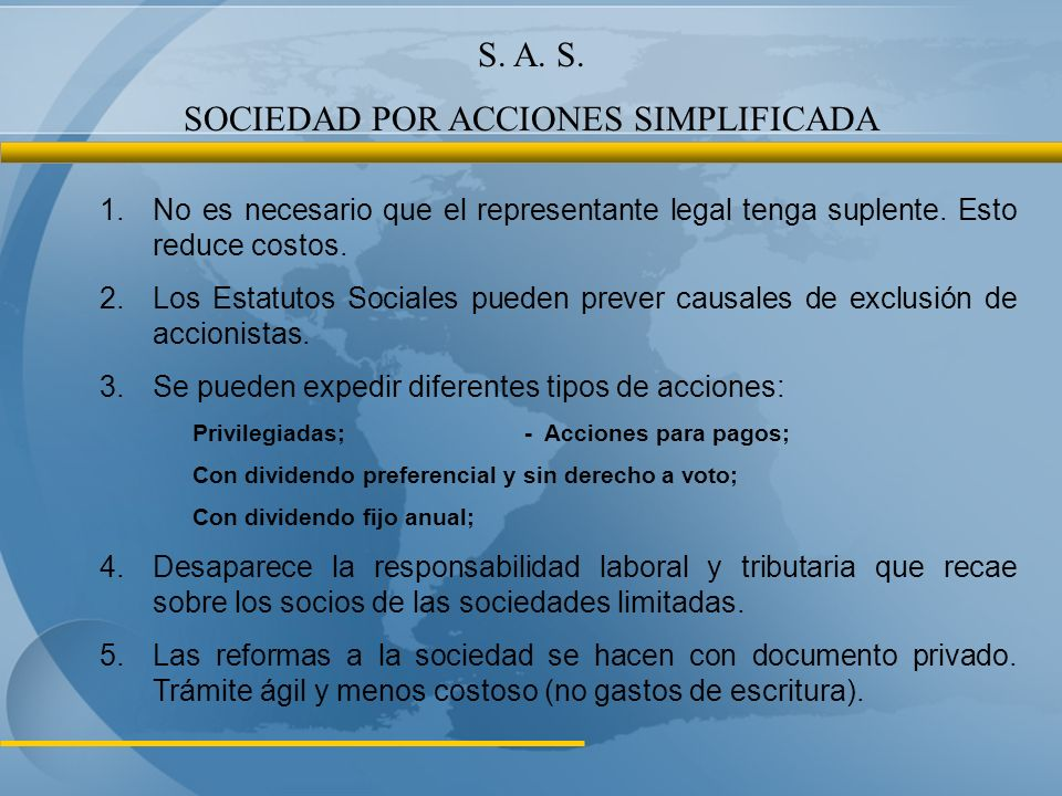 SOCIEDAD POR ACCIONES SIMPLIFICADA
