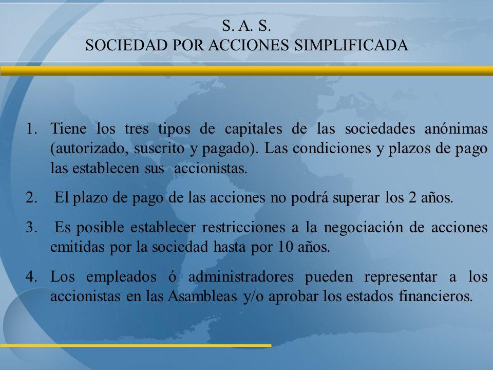 S. A. S. SOCIEDAD POR ACCIONES SIMPLIFICADA