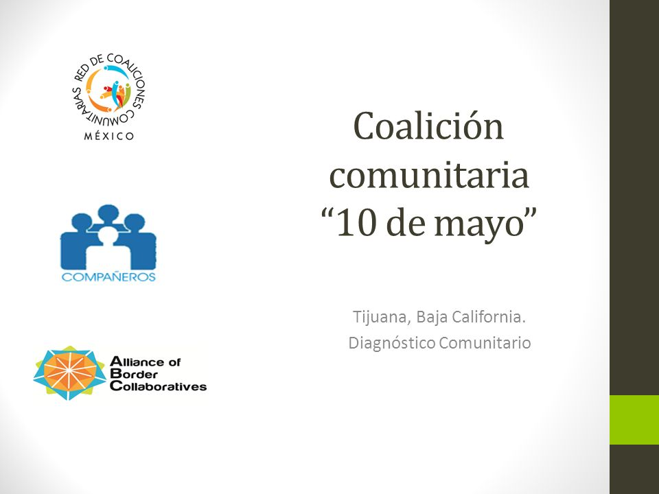 Coalición comunitaria 10 de mayo