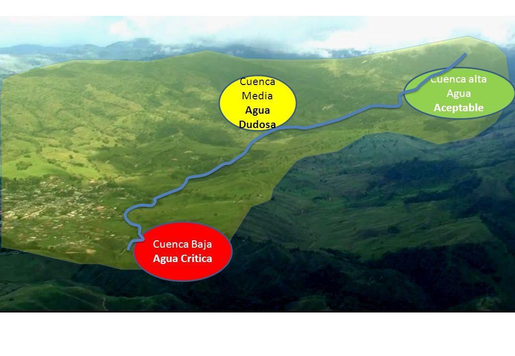 Cuenca alta Agua Aceptable