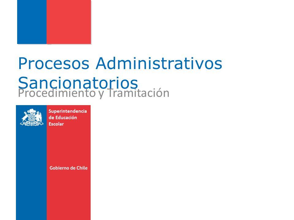 Procesos Administrativos Sancionatorios