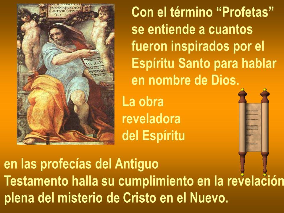 Con el término Profetas