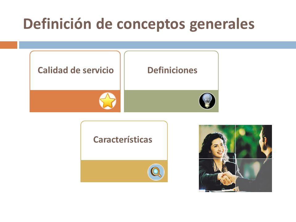 Definición de conceptos generales