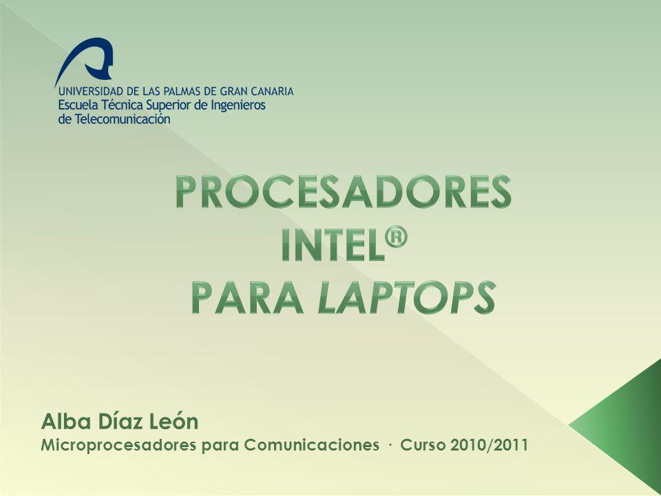 PROCESADORES INTEL® PARA LAPTOPS
