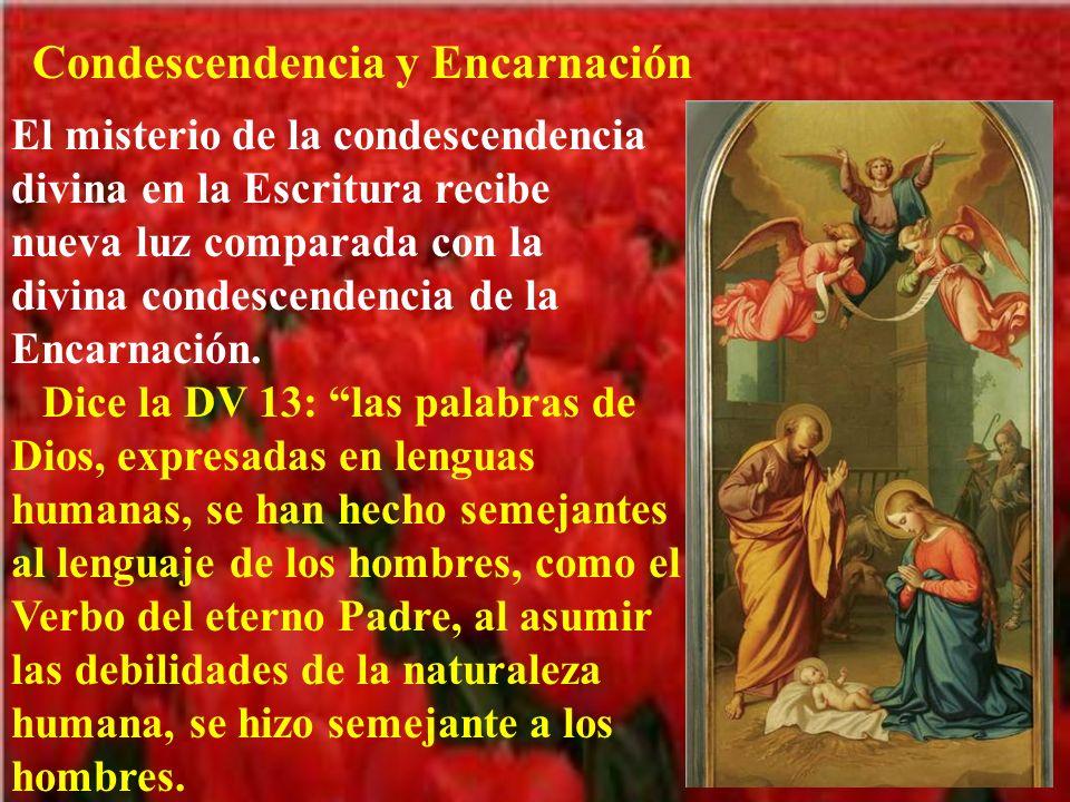 Condescendencia y Encarnación