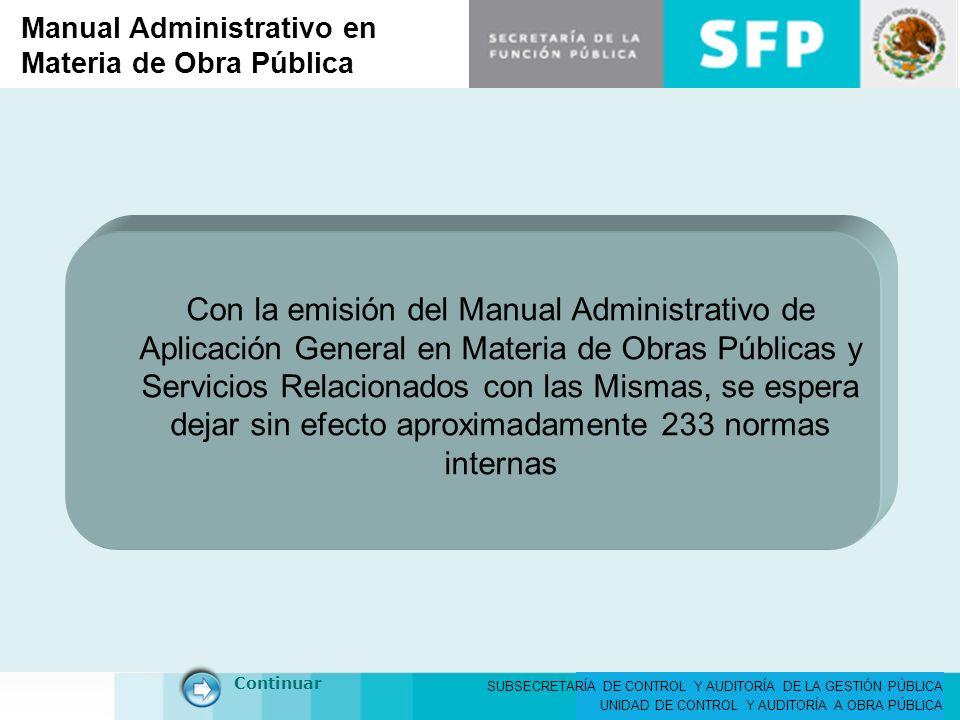 Manual Administrativo en Materia de Obra Pública