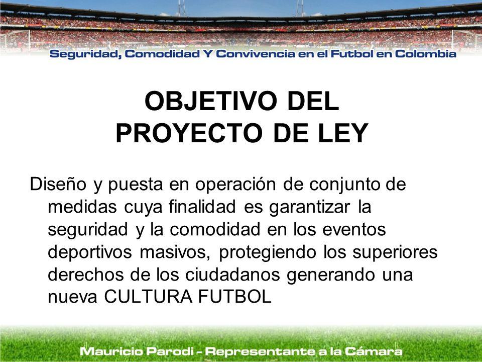 OBJETIVO DEL PROYECTO DE LEY
