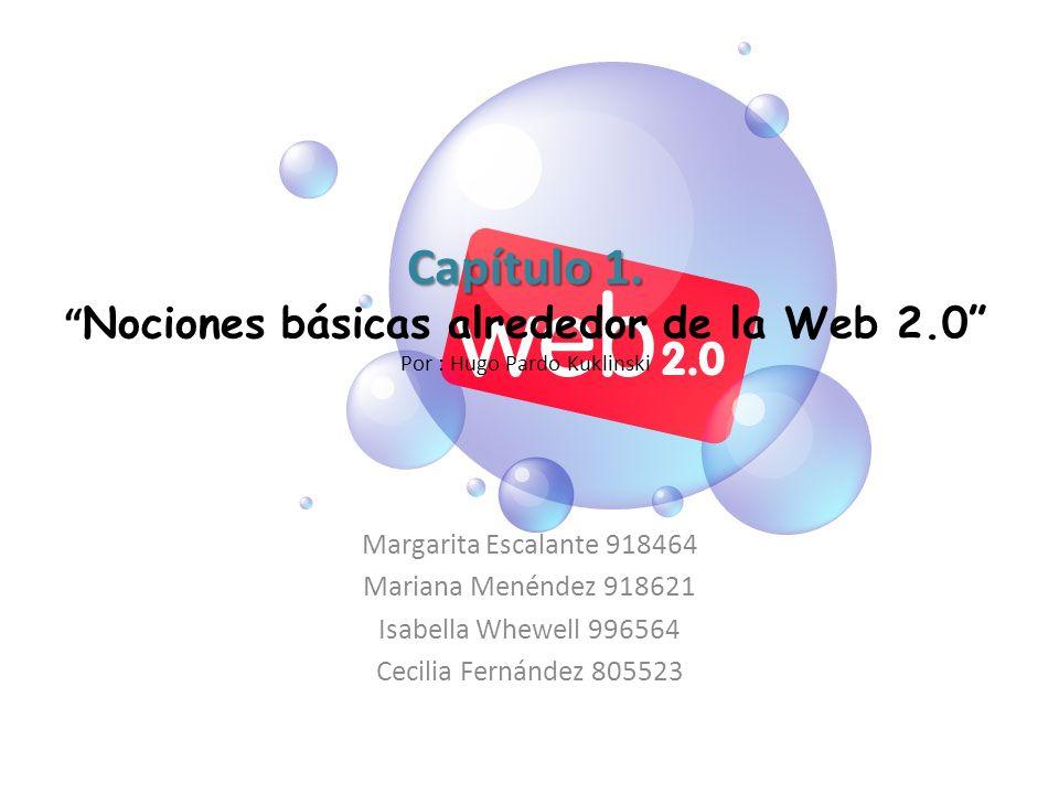 Capítulo 1. Nociones básicas alrededor de la Web 2