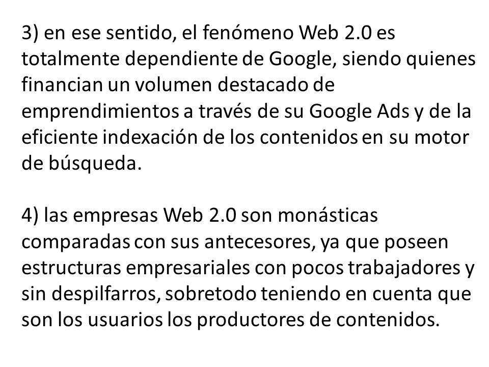 3) en ese sentido, el fenómeno Web 2