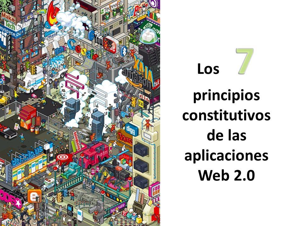 Los 7 principios constitutivos de las aplicaciones Web 2.0