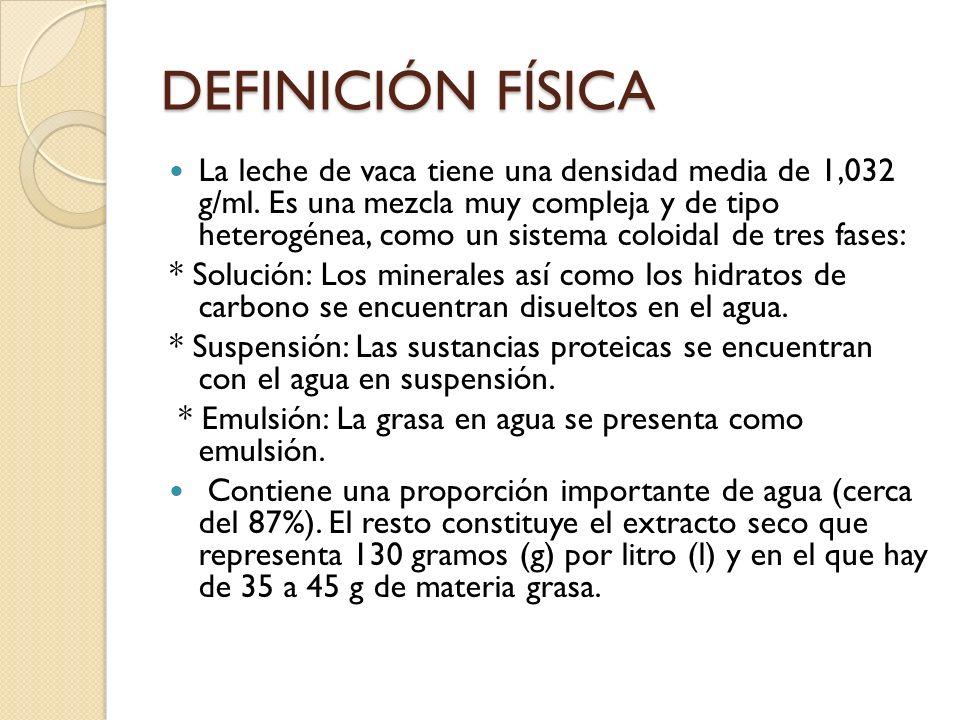 DEFINICIÓN FÍSICA