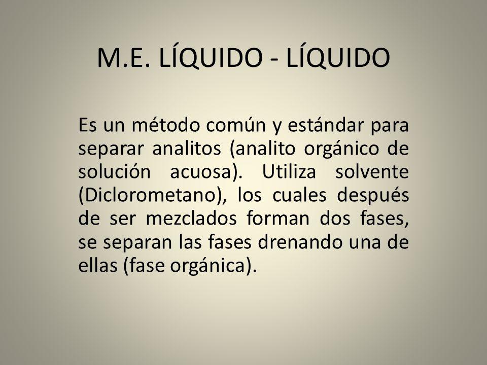 M.E. LÍQUIDO - LÍQUIDO