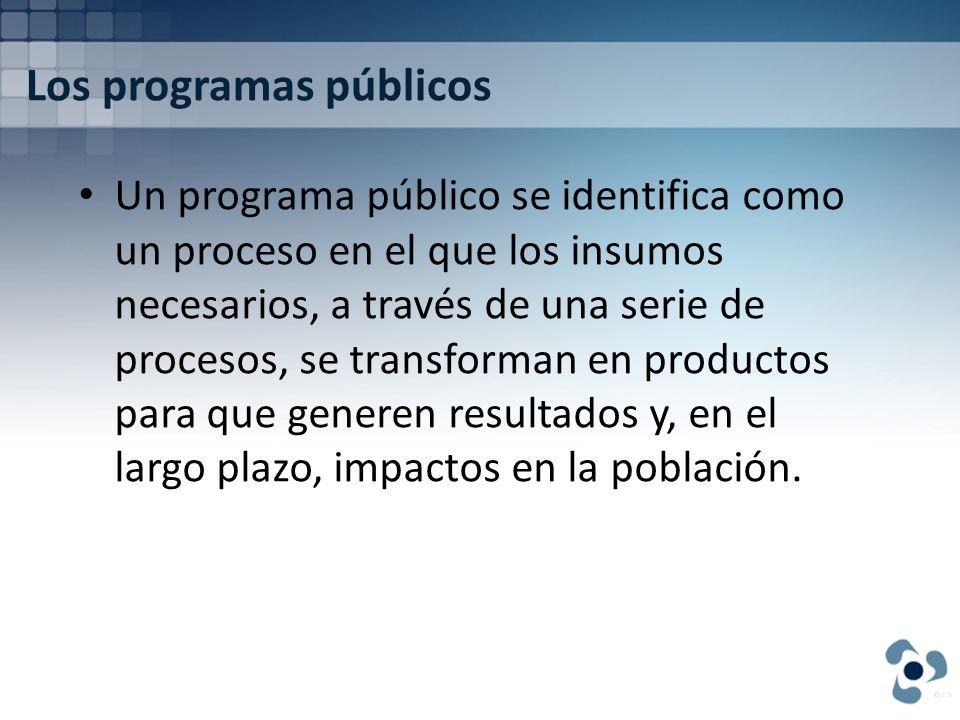Los programas públicos