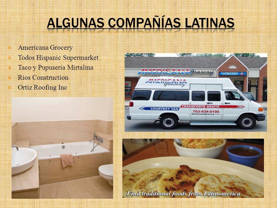 Algunas compañías Latinas