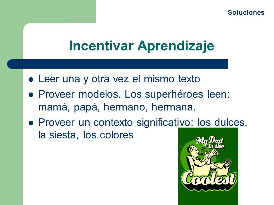 Incentivar Aprendizaje