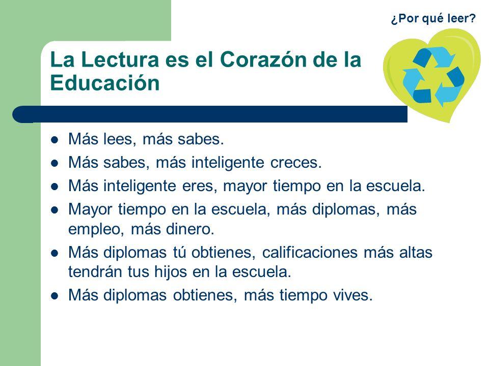 La Lectura es el Corazón de la Educación