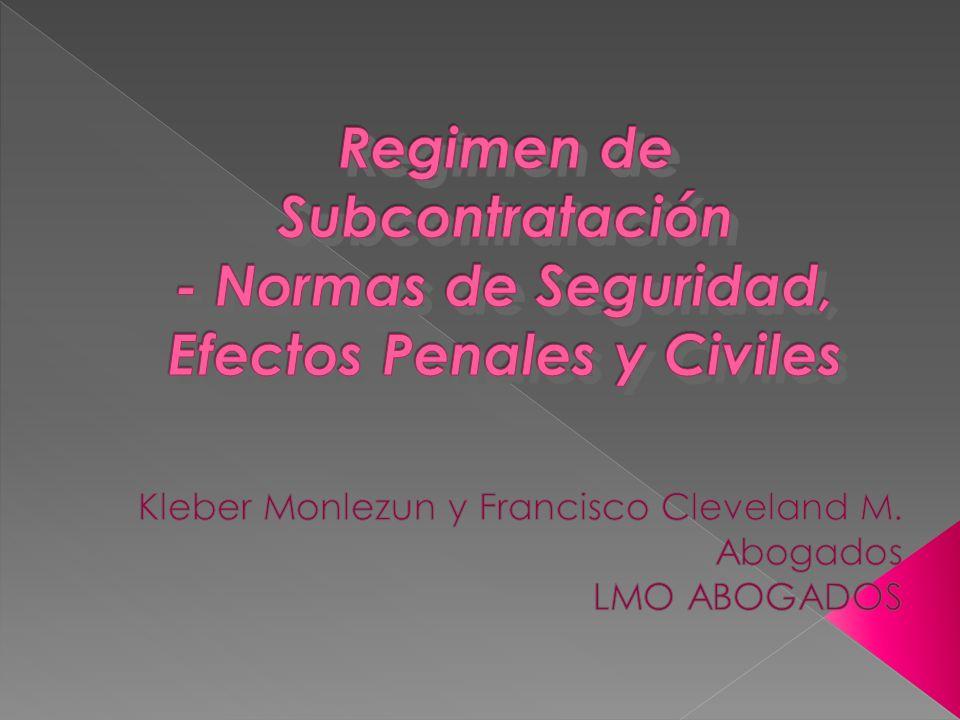 Kleber Monlezun y Francisco Cleveland M. Abogados LMO ABOGADOS