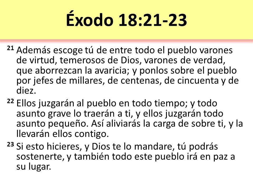 Éxodo 18:21-23