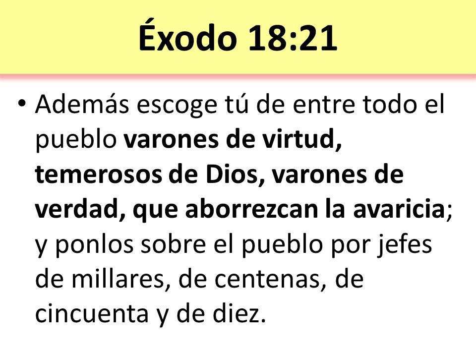 Éxodo 18:21