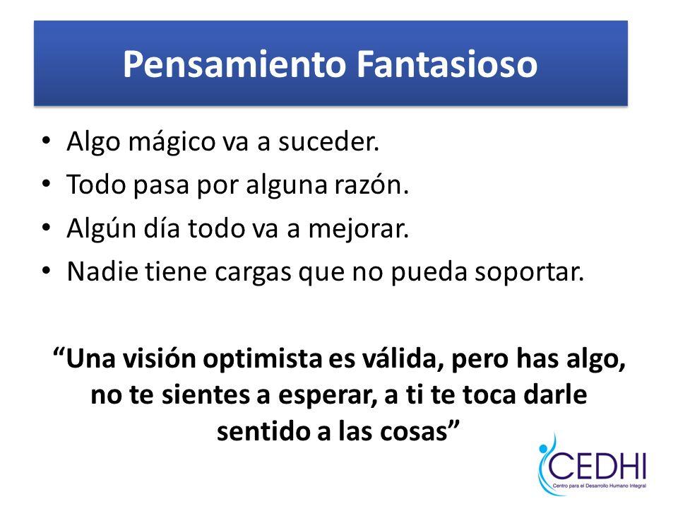Pensamiento Fantasioso